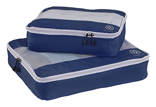 Uncharted Ultra-Lite Packing Cube 2 Piece Set, Navy, One Size