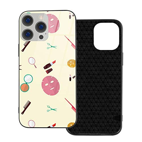 Funda de protección compatible con iPhone 12 / iPhone 12 Pro Case Beauty Clinic Free Vector Phone Cases/Cover Carcasa de vidrio templado