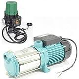 Hauswasserautomat Gartenpumpe MH 1300Watt 6000 L/h 5,5bar + Steuerung IBO-SK15