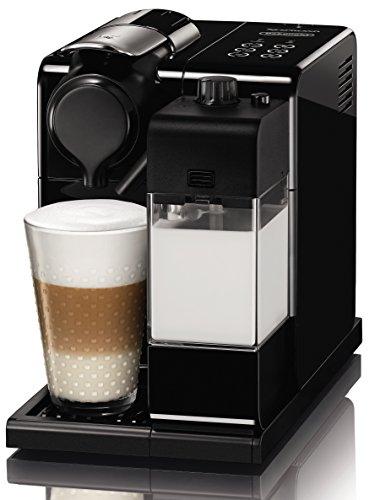 De'Longhi Nespresso Lattissima Touch EN 550.B Kaffekapselmaschine mit Milchsystem, Gratis Welcome Set mit Kapseln in unterschiedlichen Geschmacksrichtungen, 19 bar Pumpendruck, Schwarz