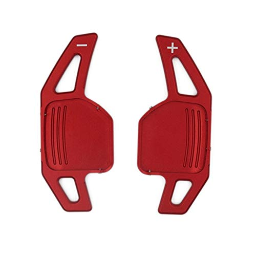 XINGFUQY AUTOMOTECOR AUTOMOTIVO Whiting Pad FIT FOR Audi A3 A4 A4L A5 A6 A7 A8 Q3 Q5 Q7 TT S3 (Color : Red)