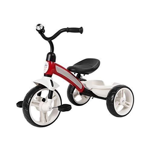 GYF Fácil de Regalos Llevan una niña Hijos pequeños niños en Triciclo Triciclo de niños de 1 a 3 años de Edad, niño de 3-6 años de Edad, es el Amor (Color : Red)