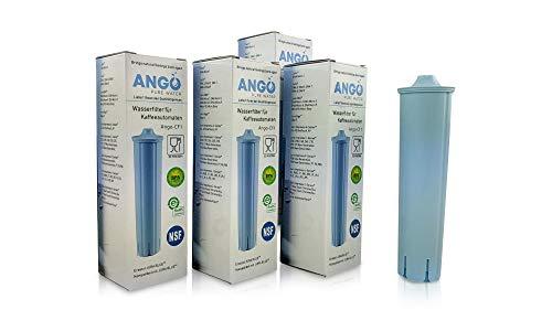 4x Wasserfilterpatronen ersetzen Jura Claris Blue 71311/67007 / kompatibel mit Jura Kaffeemaschinen - PureWater Ango-CF1 Kaffeevollautomat Kartusche