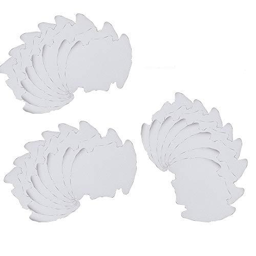 Integrity.1 Películas Protectoras para Manijas, 24 Piezas Tirador de Puerta Película Protectora, Película para Manijas de Puerta de Automóvil, Resistente a los Arañazos y al Deslizamiento