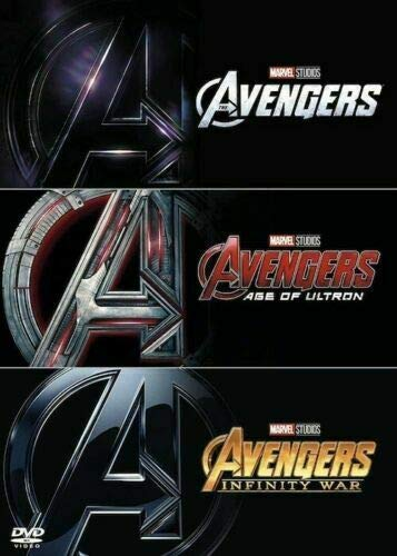 The Avengers Trilogy (Avengers Assemble / Avengers: Age of Ultron / Avengers: Infinity Wars) [DVD]