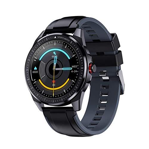 Nuevo GPS Smart Watch SN88 Reloj Deportivo Bluetooth para Hombres IP68 Rastro cardíaco Fitness Tracker DIY UI 60 días de Espera Android iOS,A