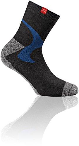 Rohner Socken Erwachsene Socks Next Walking 2er Pack Rohner, Anthrazit, 39-42