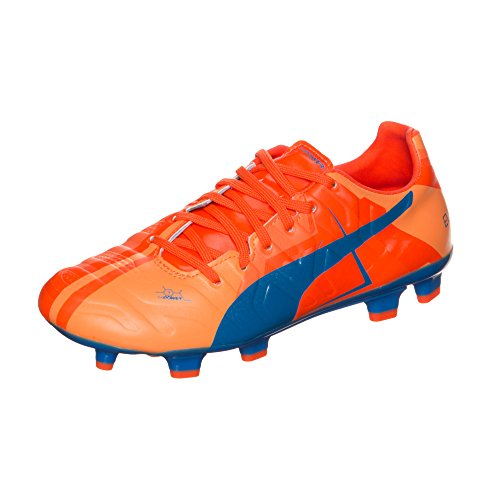 Puma evoPOWER 3 Head To Head FG Fußballschuh Kinder 4.5 UK - 37.5 EU