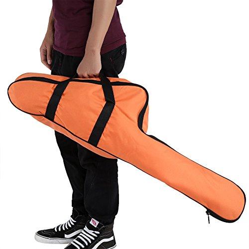 Garsent Oxford Kettensäge Tragetasche, Motorsägen Tasche dauerhaft Aufbewahrungstasche für Chainsaw, Kettensäge (Orange)
