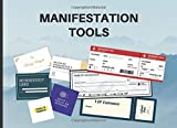 Manifestation Tools: Abundance Checks, Business Cards, Boarding Passes and More to Manifest Your Dreams and Desires | Law Of Attraction Kit (Vision Board Supplies for Goal Visualization, Band 1)