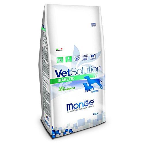 MONGE Chien diabétique Vetsolution KG. 2 aliments secs pour chiens,