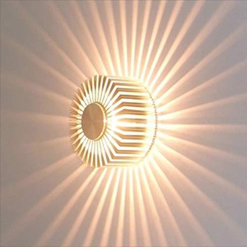 QiKun-Home Creatieve LED Plafondlamp Slaapkamer Veranda Hotel Decor Lamp Warm wit Licht