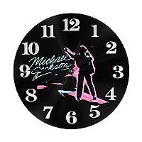 壁掛け 置き時計 Wall Clock, 壁掛け時計 ウオールクロック 円形 静音 連続秒針 クロック 掛け時計 掛時計 飾る時計 部屋 客室 教室 部屋装飾 贈り物 新築 開業 アラビア数字 丸い 壁時計