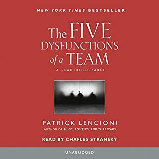Couverture de The Five Dysfunctions of a Team