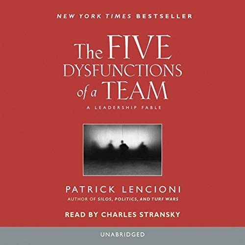 Page de couverture de The Five Dysfunctions of a Team
