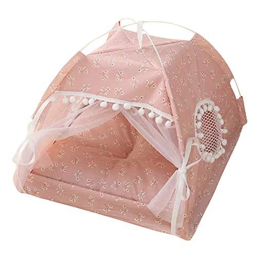 Hundezelt I Luxus-Katzenhöhle I Hunde-Schlafplatz I Hundekorb I Hochwertiger Katzenkorb I Katzen-Zelt | Hundebett (XS, Style 1)