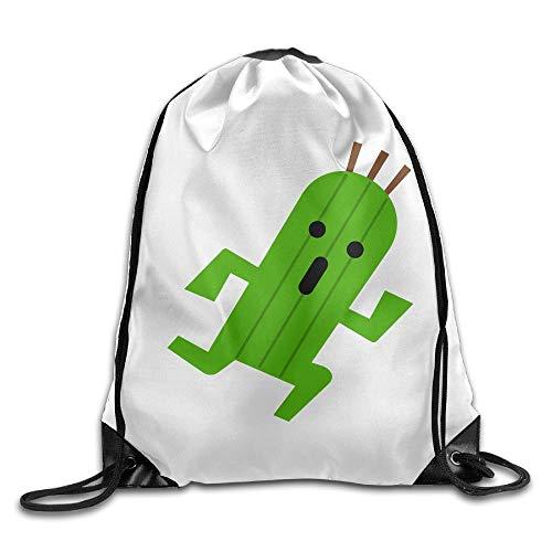 Cactus Running Unisex Home Gym Sack Tasche Sport Kordelzug Rucksack Tasche