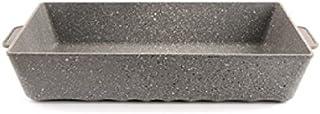 "Mopita Rider 37cm x 25cm/14.56"" x 9.85"" Non-Stick Cast Aluminum Roasting Pan, Large, Grey"
