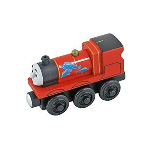 Thomas & Friends Fisher-Price Wooden Railway James' Fishy Delivery ~ BDG57 ~ Replacement Red Train Engine (James)