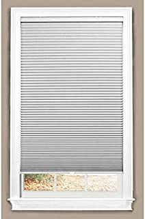 allen + roth White Blackout Cordless Cellular Shade (Actual: 31-in x 64-in)