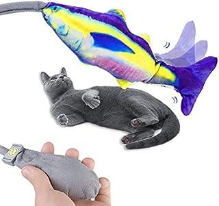 لعبة القطة التفاعلية بنكهة النعناع البري على شكل سمكة للقطط للاستخدام الأماكن الداخلية من هالومودو