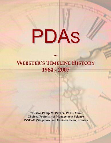 PDAs: Webster's...