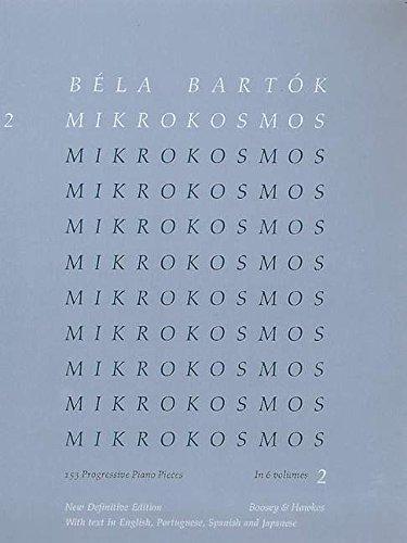 Mikrokosmos Vol. 2 Piano