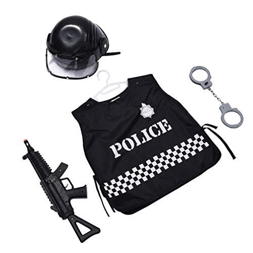 Amosfun 4 Piezas Disfraz De Policía Niños Esposas