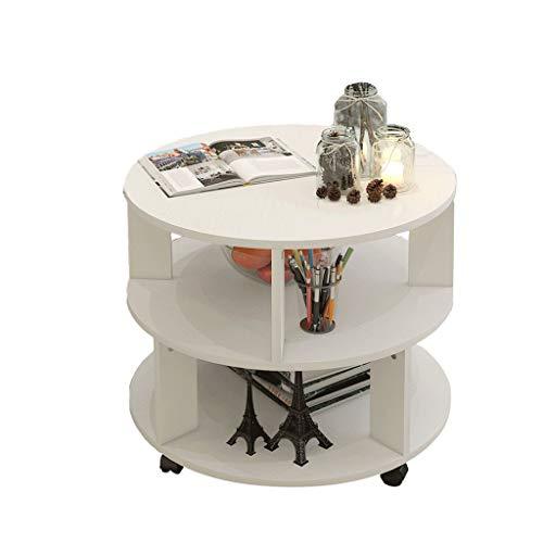 Mesa de centro pequeña Simple mesa de centro moderna nórdica redonda creativa sala de estar de...