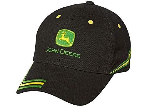 John Deere Cap Champion Schwarz