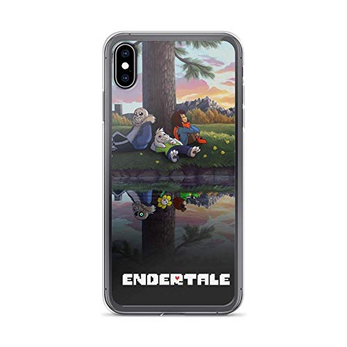 Beamm-Frost Compatible with iPhone XR Case Undertale Chara Role Play American Indie Game Pure Clear Phone Cases Cover
