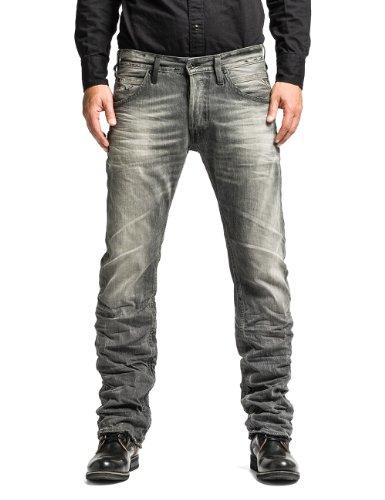 Replay Herren Straight Leg Jeans Tillbor, Gr. W29/L32 (Herstellergröße: 29), Grau (GREY 10)