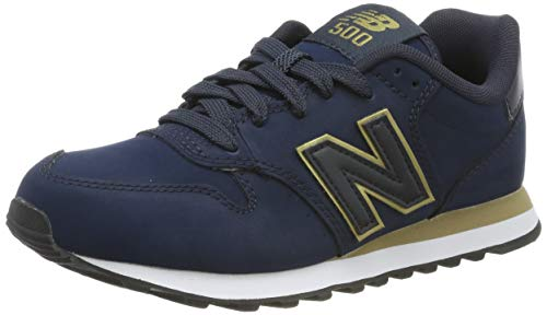 New Balance 500 F, Baskets Basses Femme, Bleu (Blue), 42.5 EU
