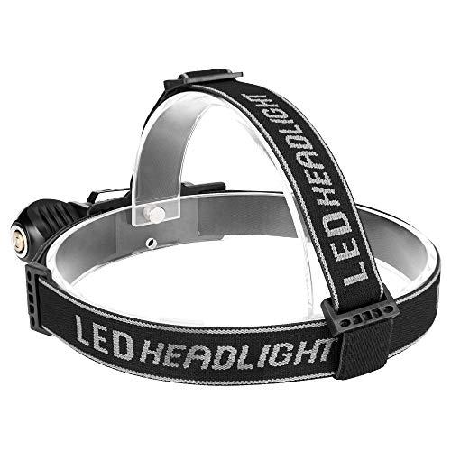 ANBET Ni/ños Diadema de punto LED Linterna frontal recargable USB Brillo ajustable Faros S/úper brillantes manos libres para ni/ños y ni/ñas