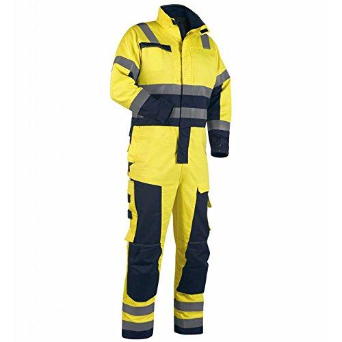 Blakläder 637815063389C62 Overall Multinorm Größe C62 in gelb/marineblau