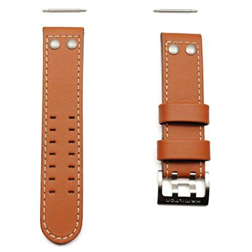 Armband echte Leder Uhr Hamilton Khaki x-Wind 22mm h600.776.103