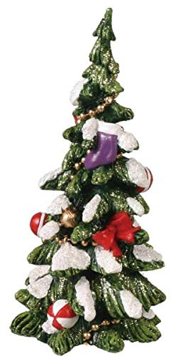 NIMIBOD - Fairy Gardens Accessories, Statues and Lawn Ornaments Supplies for Miniature Dollhouse Fairy Garden Decorated Christmas Tree #2 - Buy 3 Save $5 DIY for Miniature Fairy Garden Accessories f