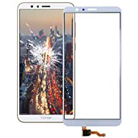 DMTRAB for. Huawei Honor 7Xタッチパネル用スペアパーツ(ブラック) (Color : White)