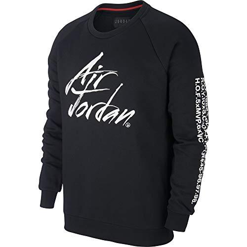Nike Jordan Jumpman Greatest Fleece - Talla M - Sudadera para Hombre - Color Negro