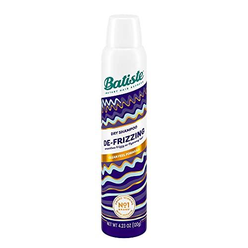 Batiste Shampoo Secco con Effetto De-Frizz e con Cocco Lisciante, 200ml