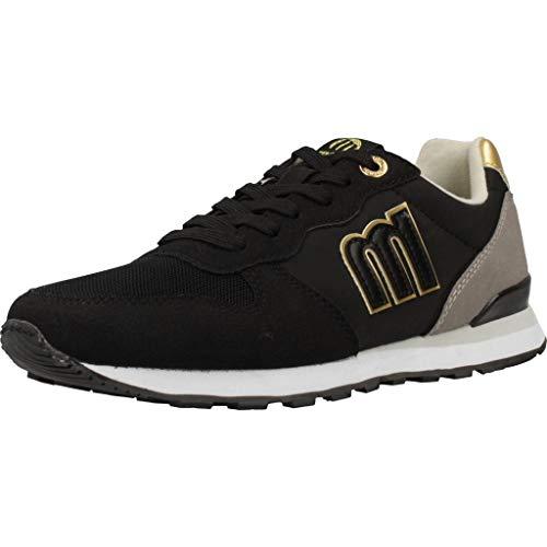 MTNG Attitude 69705, Zapatillas para Mujer, Negro (Pila Negro/Gris C47271), 36 EU