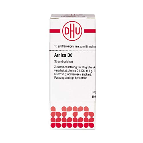 DHU Arnica D6 Streukügelchen, 10 g Globuli