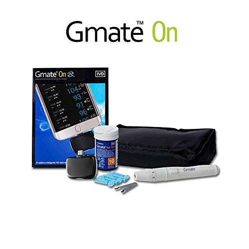 Glucometro GMATE ON - Medidor de glucosa para Android