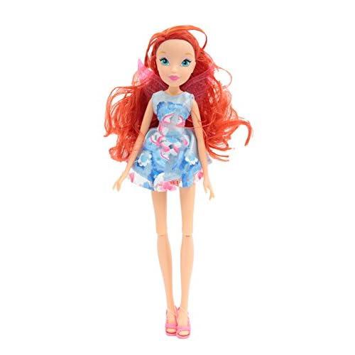 Giochi Preziosi - Winx Magical Shine Bambola Bloom, con Ciocca Light Up per i Capelli della Bambina