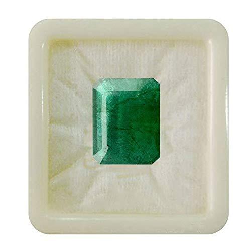 Jewelryonclick esmeralda natural facetada en forma de rectángulo de 7 quilates de piedras preciosas sueltas para anillos suministro de fabricación de joyas para colgantes curación de chakras