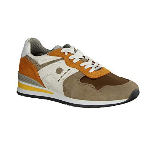 Ambitious 8095-1426 Taupe (beige) - Sneaker - Herrenschuhe Sneaker/Schnürschuh, Beige, Leder, Textil