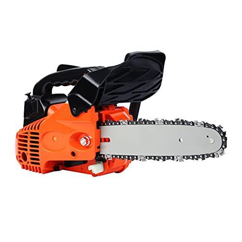 Ridgeyard Petrol Chain Saw Cutting Wood...