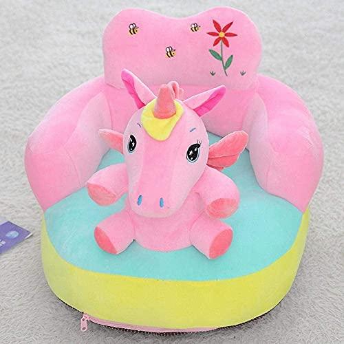 Sofá para niños, sofá de dibujos animados, sofá para niños, sillón de niños Sofá de dibujos animados lindo piel para bebés Cubierta de sofá de asiento bebé Aprenda a sentarse silla ( Color : G )