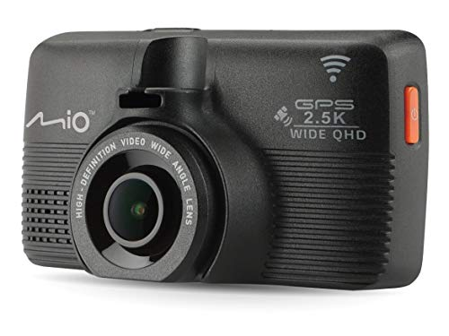 Mio MiVue 798 Full HD Schwarz WLAN - Dashcams (Full HD, 150°, CMOS, 30 fps, H.264,MP4, Schwarz)