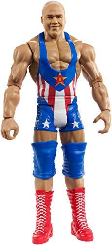 Mattel FMF08 WWE Kurt Angle 15 cm Basis Figur, Spielzeug Actionfiguren ab 6 Jahren